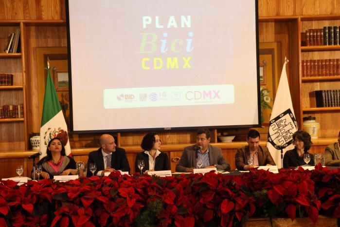 Presentan Plan Bici CDMX para impulsar políticas públicas en materia de movilidad sustentable