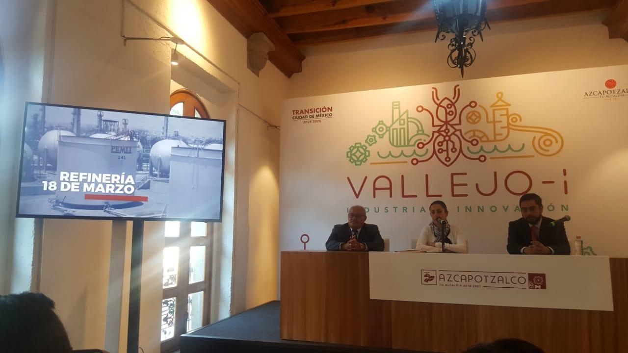 Presentan proyecto Vallejo- i para el rescate y modernización de zona industrial