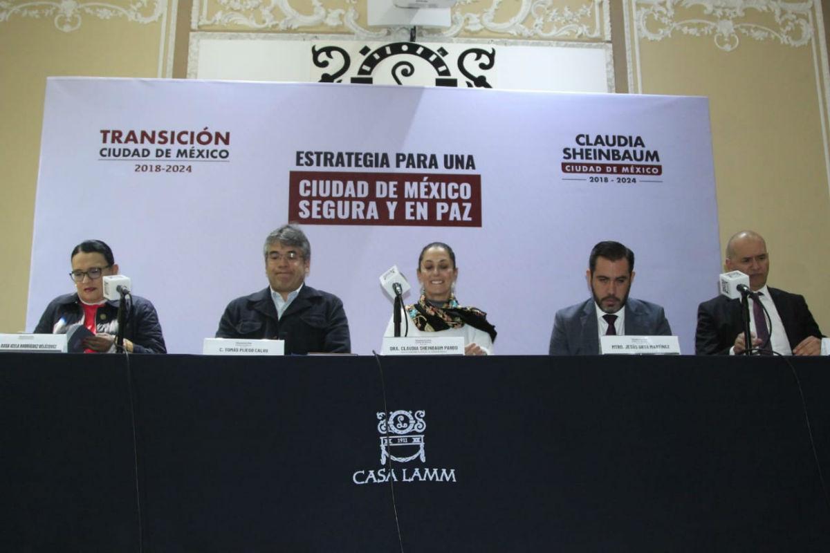 Presenta Sheinbaum a Jesús Orta como próximo secretario de Seguridad Ciudadana