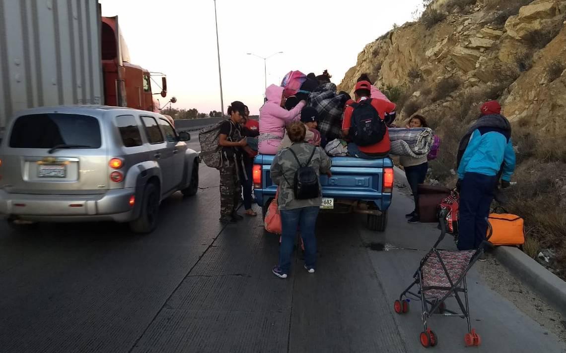 Corren a migrantes de Tijuana