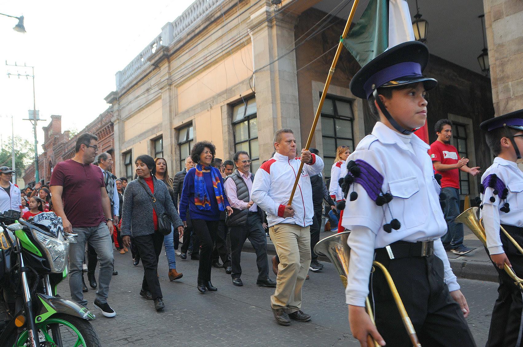 Conmemora Tlalpan el 108 Aniversario de la Revolución Mexicana