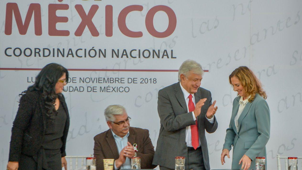 AMLO presenta Coordinación Cultural de México
