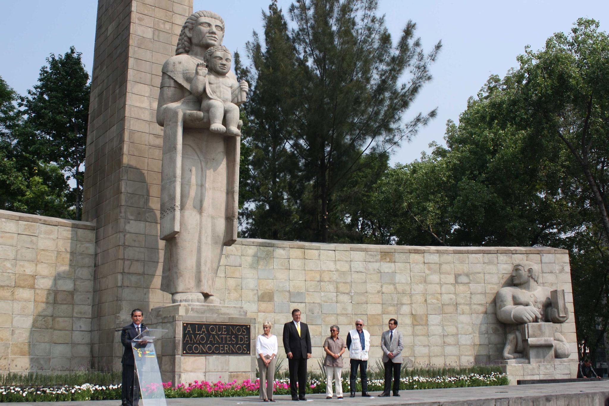 Concluyen trabajos de remozamiento en Monumento a la Madre