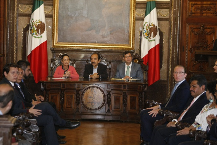 Instalan GCDMX y 16 alcaldías Primer Cabildo de la Ciudad de México