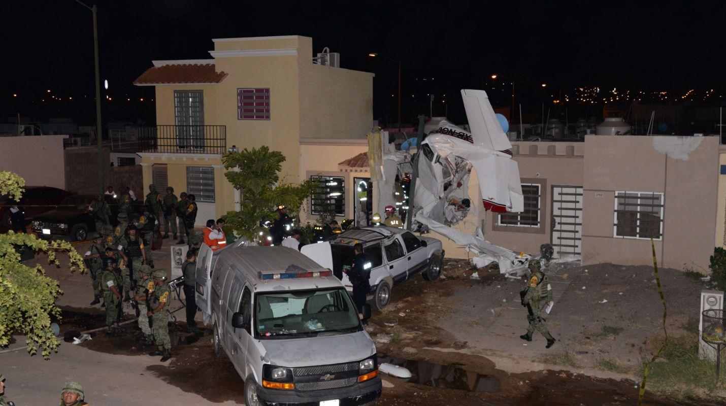 En Sinaloa, cae avioneta; hay cuatro muertos