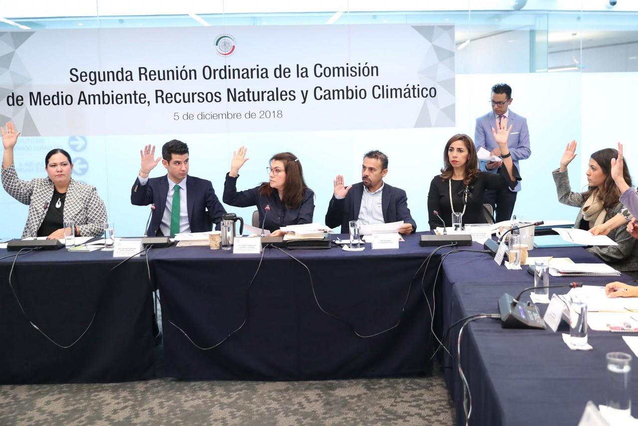 Impulsará Comisión de Medio Ambiente sinergias transversales para combatir cambio climático