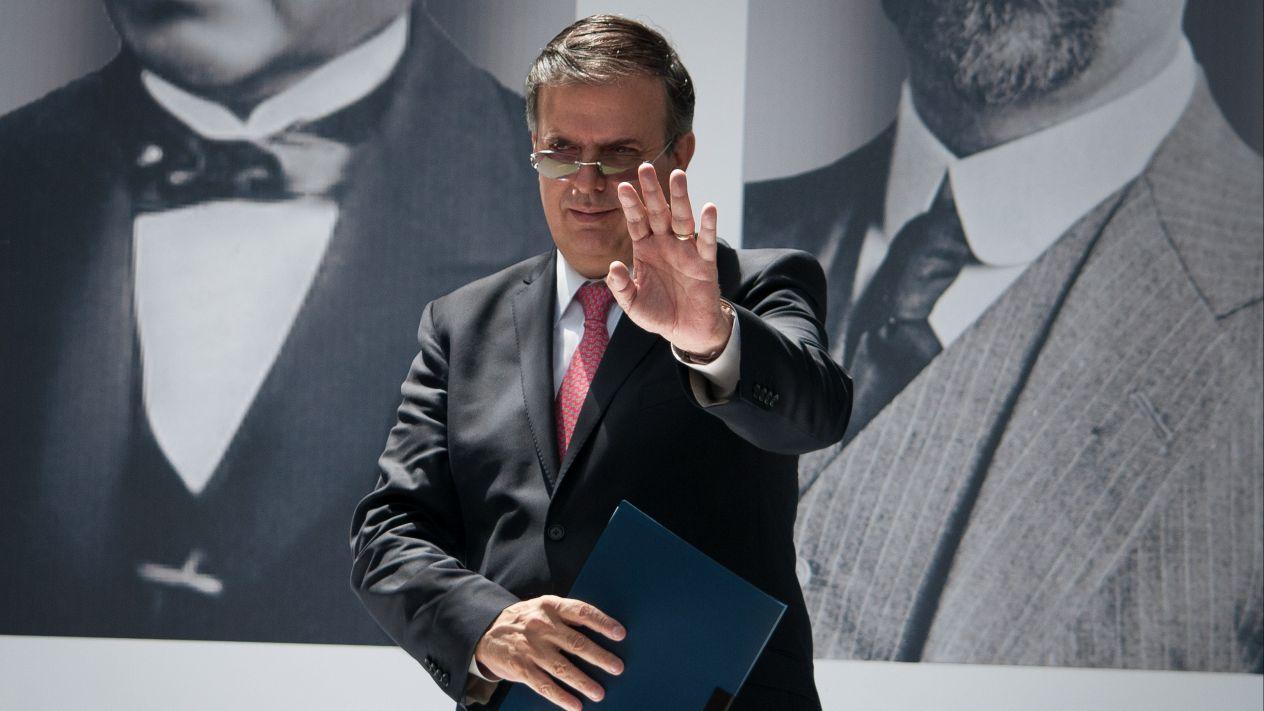 Recibe Senado nombramiento de Marcelo Ebrard como secretario de Relaciones Exteriores