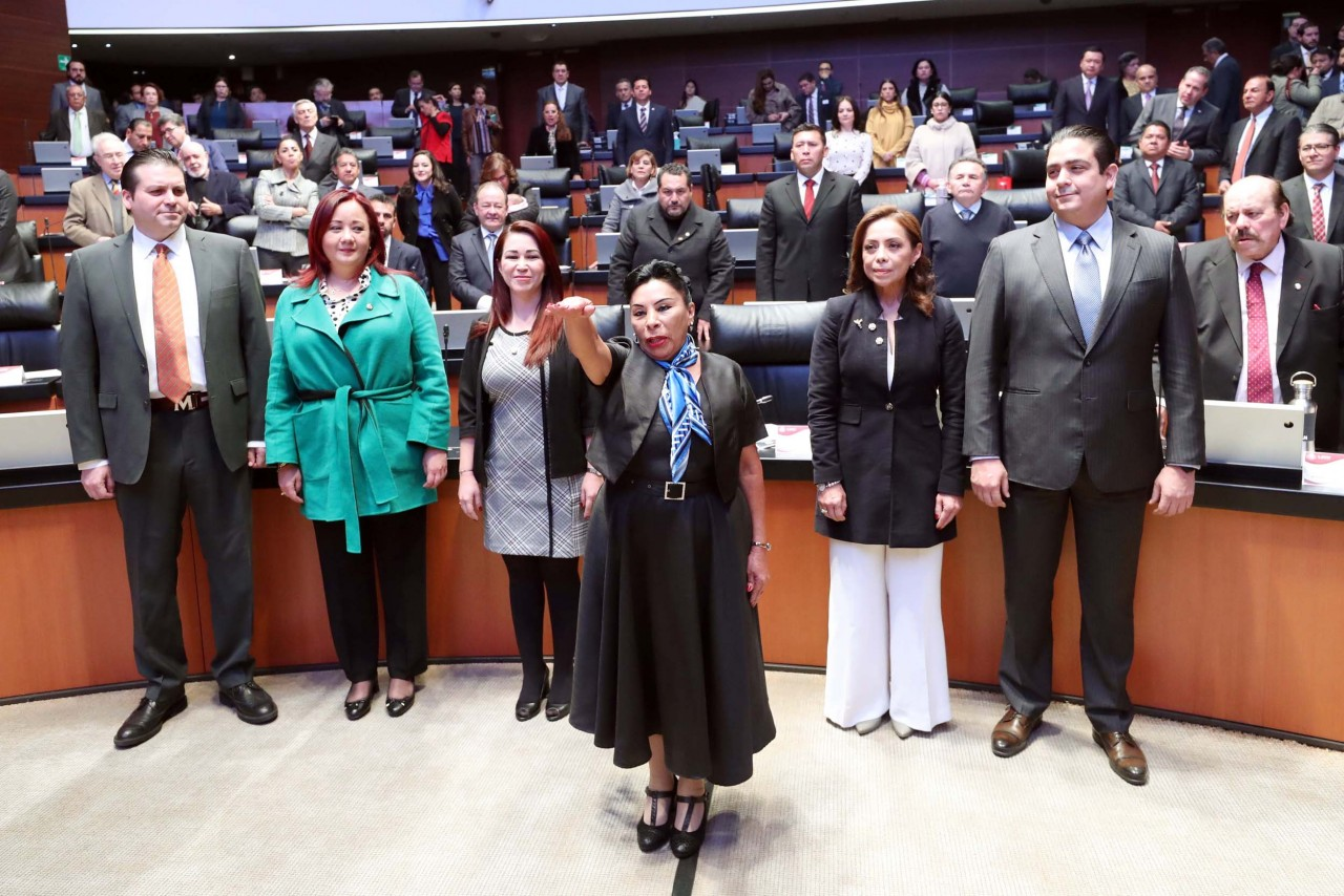 Martha María Rodríguez Domínguez, protesta como Senadora