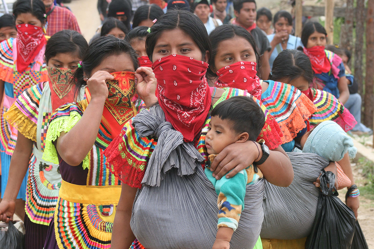 Manifiestan respeto a la libre determinación de las comunidades indígenas