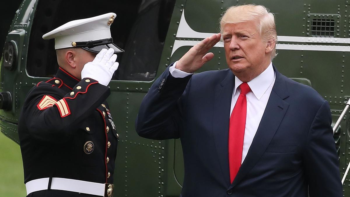 Trump engañó para no ir a Guerra de Vietnam