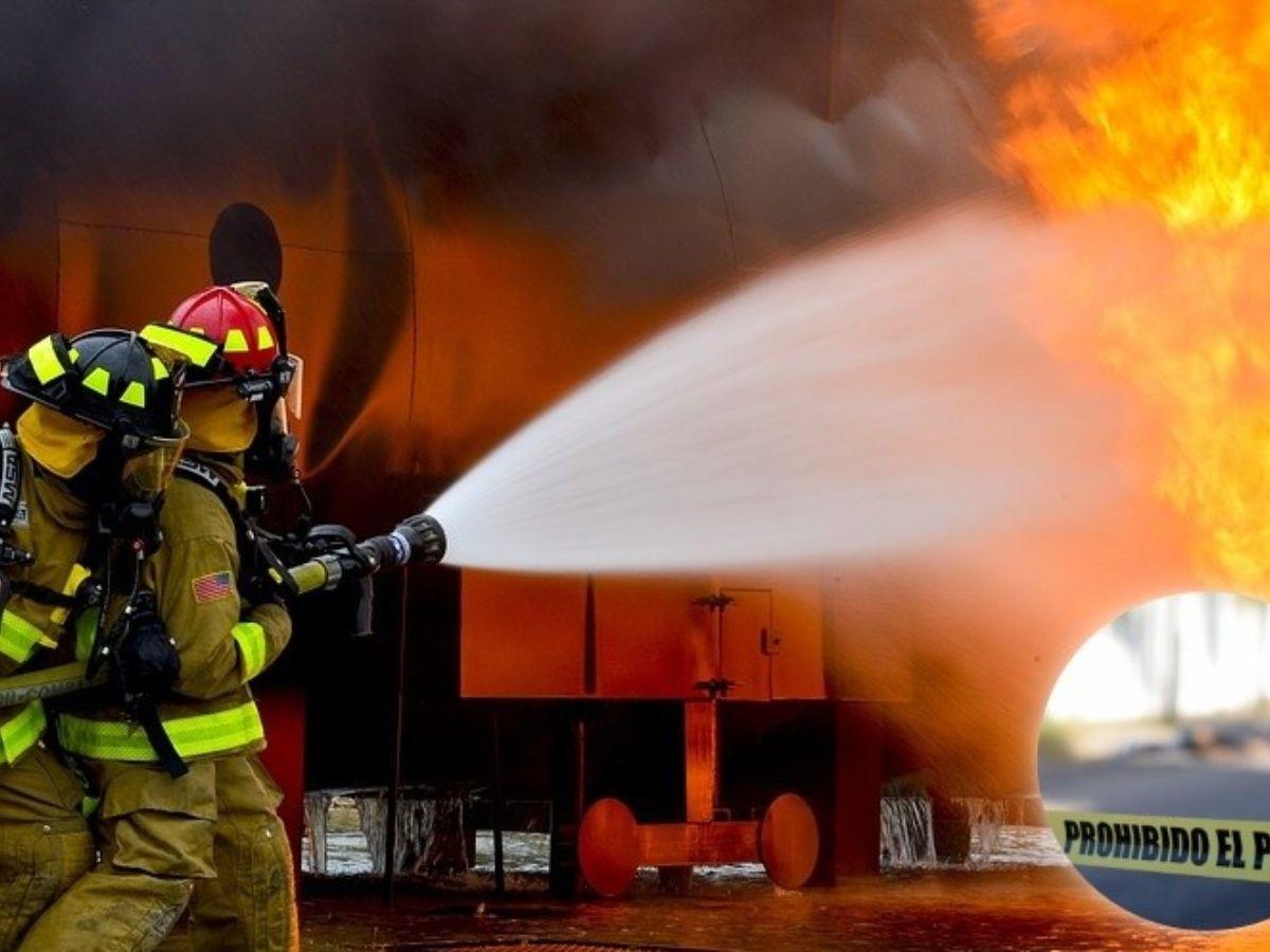 Incendio en Bordo de Xochiaca consume casa de cartón