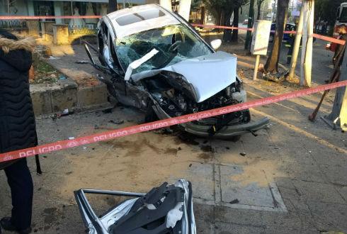 Fuerte choque en Lomas de Chapultepec deja un muerto
