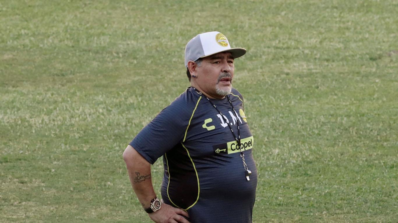 Maradona fue a parar al hospital