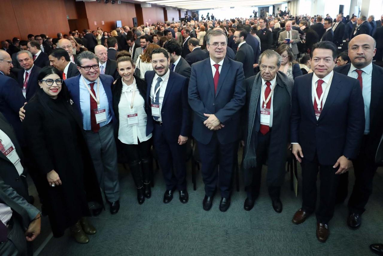 Senado acompañará e impulsará política exterior con visión de Estado: Ricardo Monreal