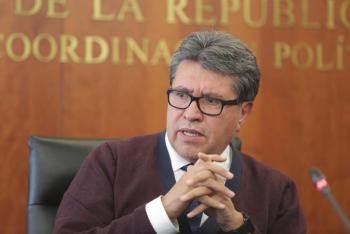 Llama Ricardo Monreal a todos los actores políticos a actuar con mesura y prudencia ante la tragedia donde fallecieron Martha Erika Alonso y Rafael Moreno Valle