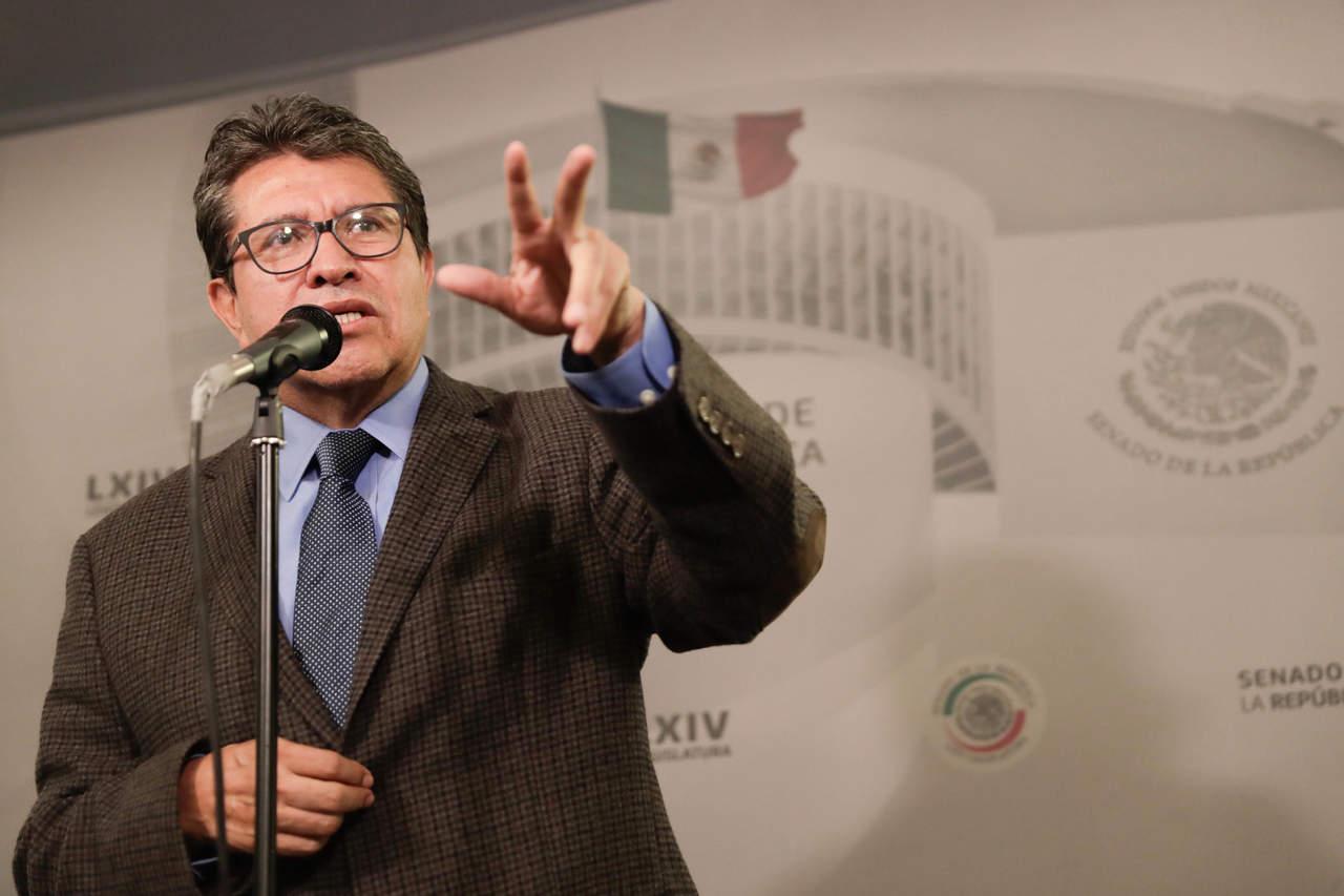 Ricardo Monreal celebra la determinación del Poder Judicial de reducir su salario en un 25 por ciento