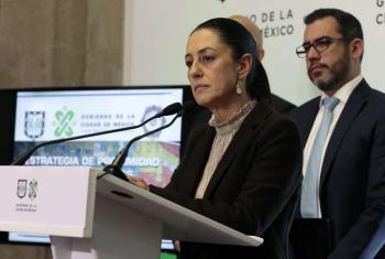 Presenta Jefa de Gobierno las coordinaciones territoriales de seguridad pública y procuración de justicia en la Ciudad de México