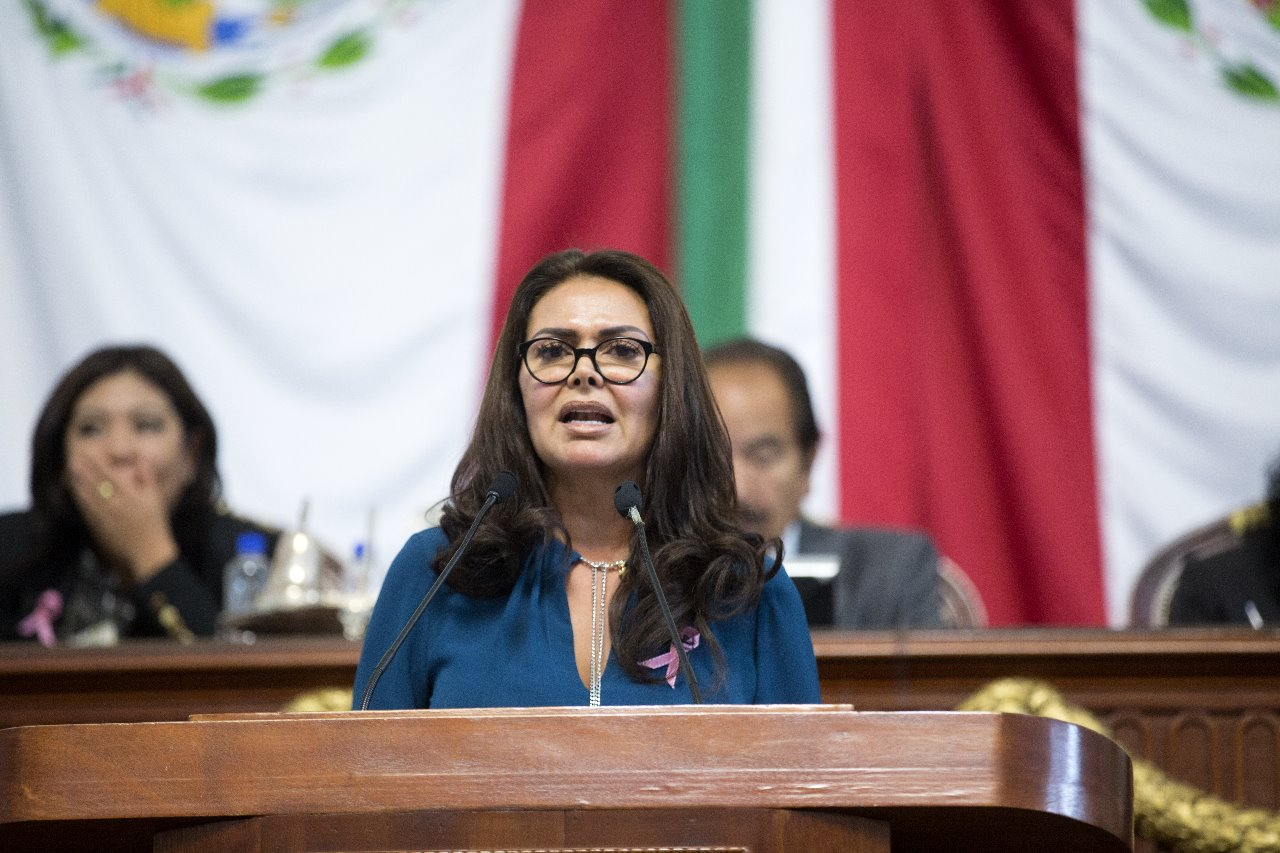 Regresa Leticia Varela al Congreso capitalino