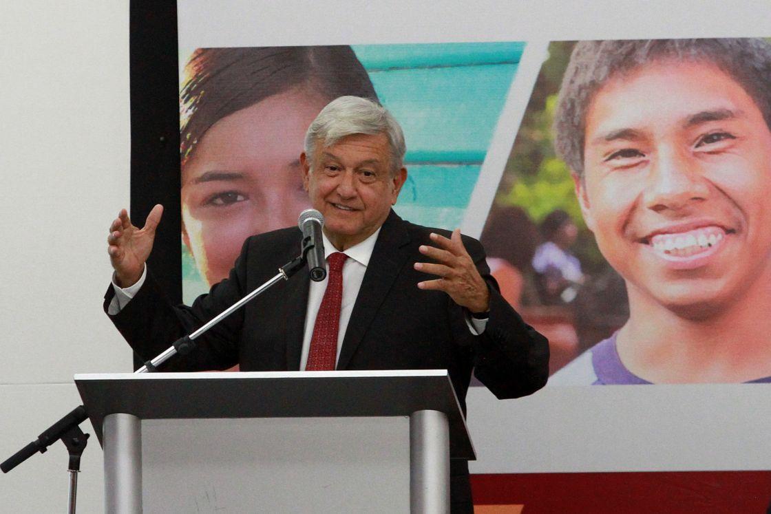 Anuncia AMLO inicio del programa Jóvenes Construyendo el Futuro