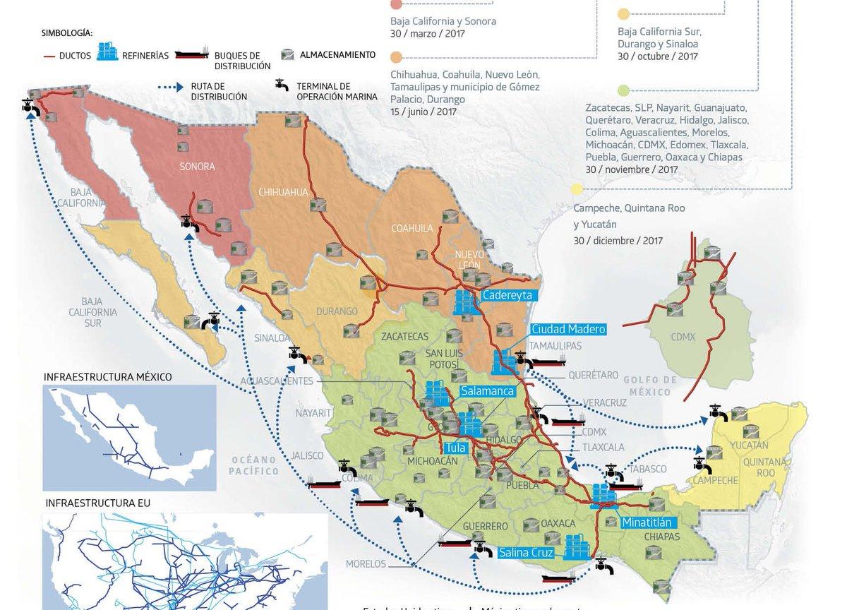 Exigen a Pemex mapas de estatus de gasolineras