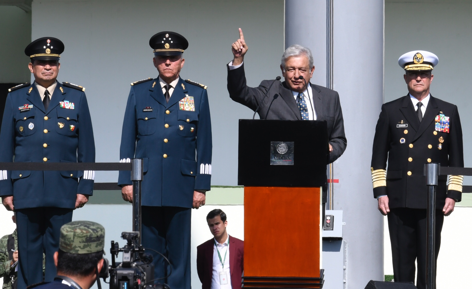 Guardia Nacional tendrá mando civil
