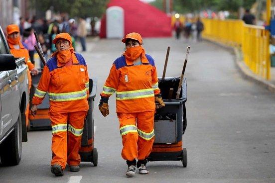 Trabajadores de limpieza piden respeto a reglamentos sindicales