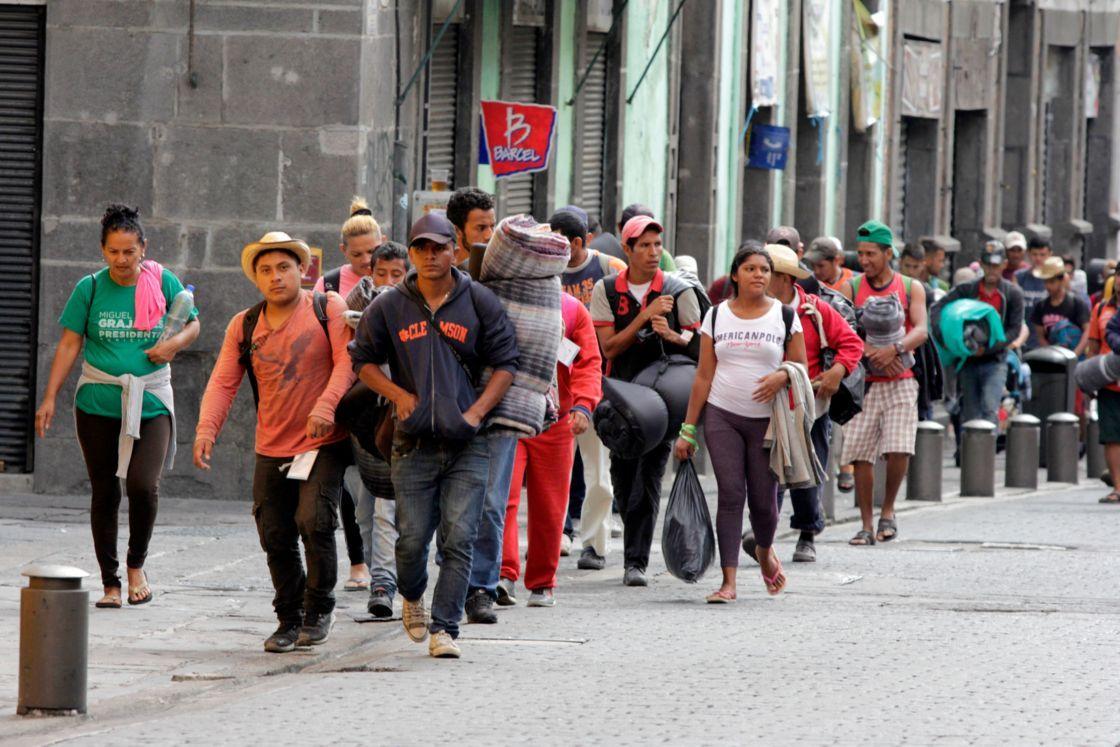 Llega a México otra caravana migrante