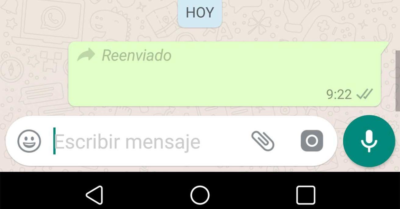 Limita Whatsapp reenvío de mensajes