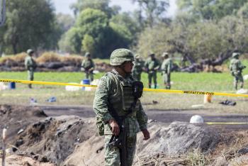 CNDH envía queja a Sedena por explosión en Hidalgo
