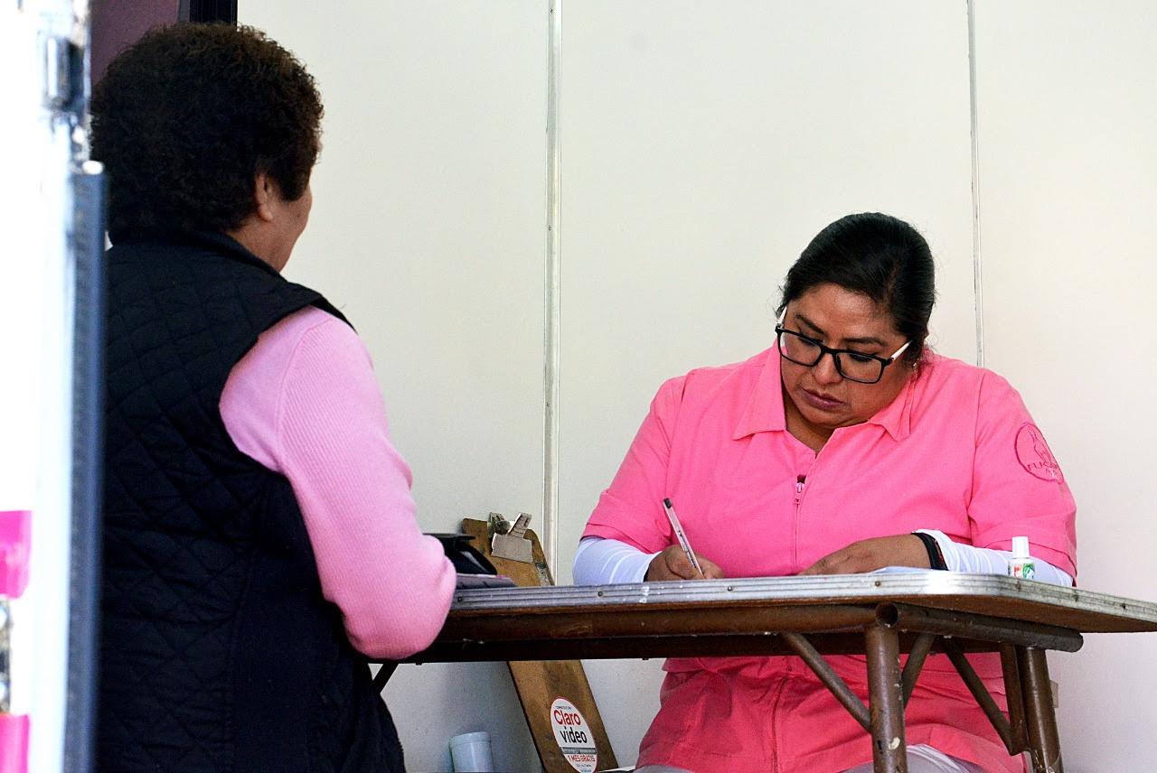 Mujeres recibirán mastografías gratuitas en Tlalpan