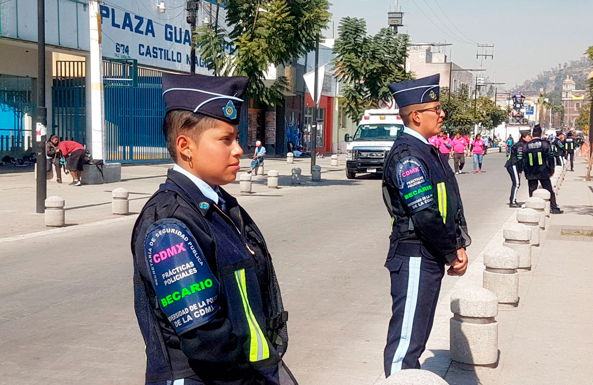 Realizan operativo de seguridad por arribo de inmigrantes a la CDMX