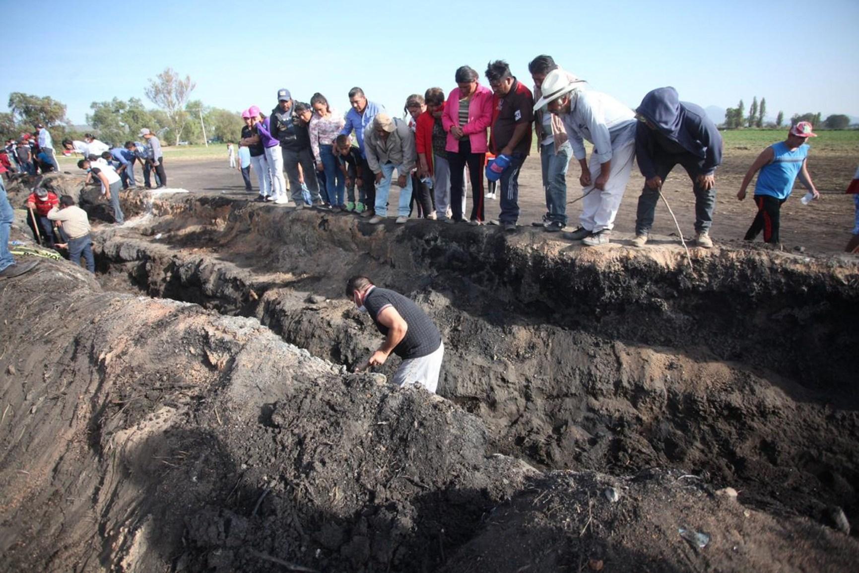 Van más de 100 muertos por explosión en Tlahuelilpan, Hidalgo