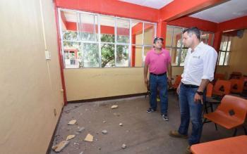 Suspenden clases en Oaxaca por sismo
