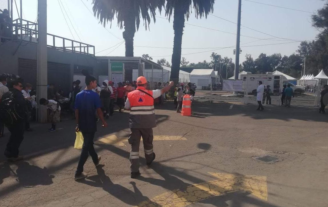 Implementa SSC dispositivo de seguridad y vialidad ante el arribo de caravana migrante