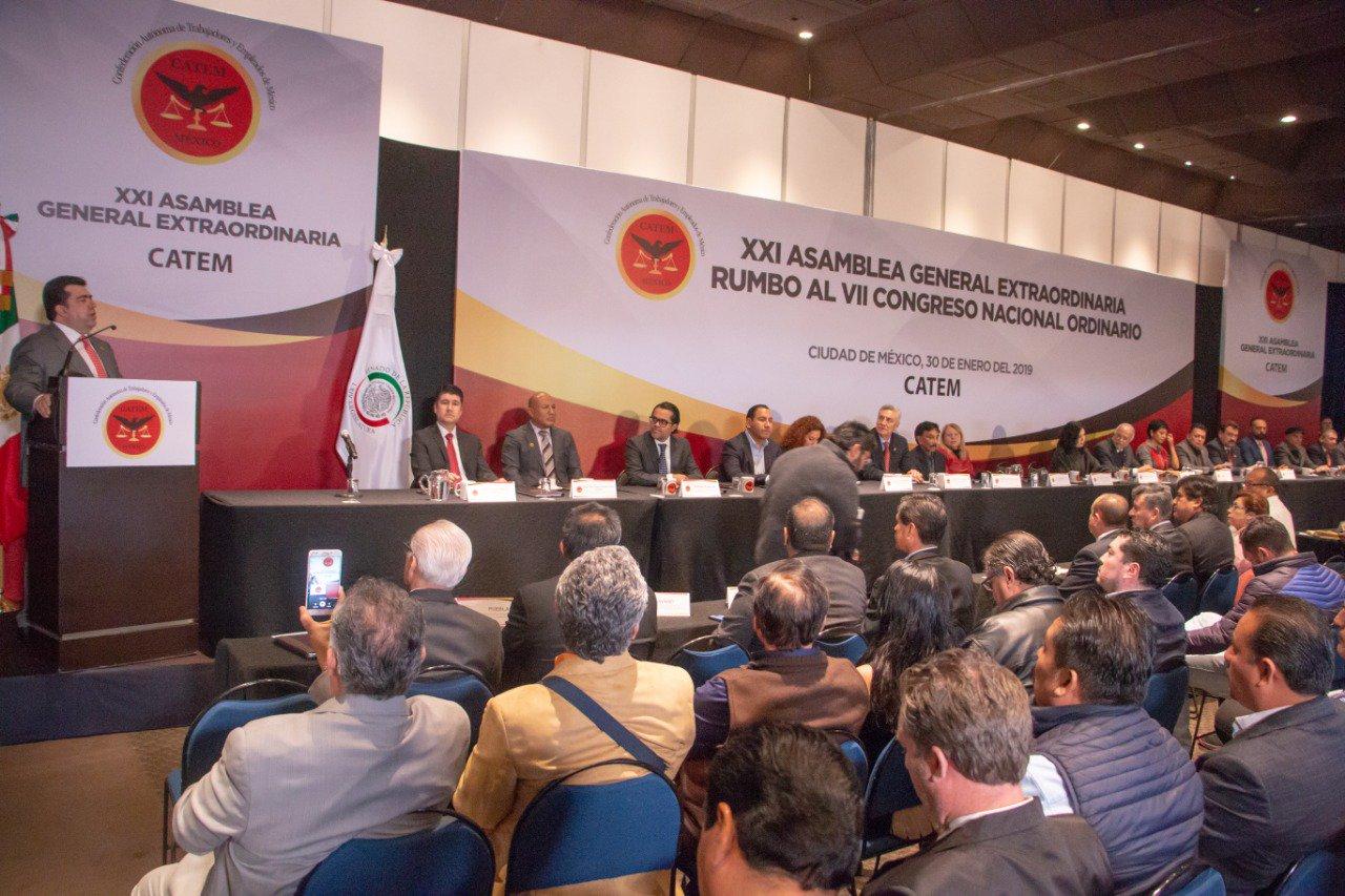 Sindicatos y Confederaciones unidos en pro de México: Haces Barba