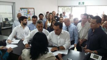 """Funcionarios del Gobierno federal presentan declaración patrimonial sobre """"la raya"""""""