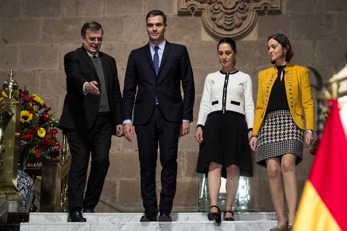 Presidente de España se declara chilango