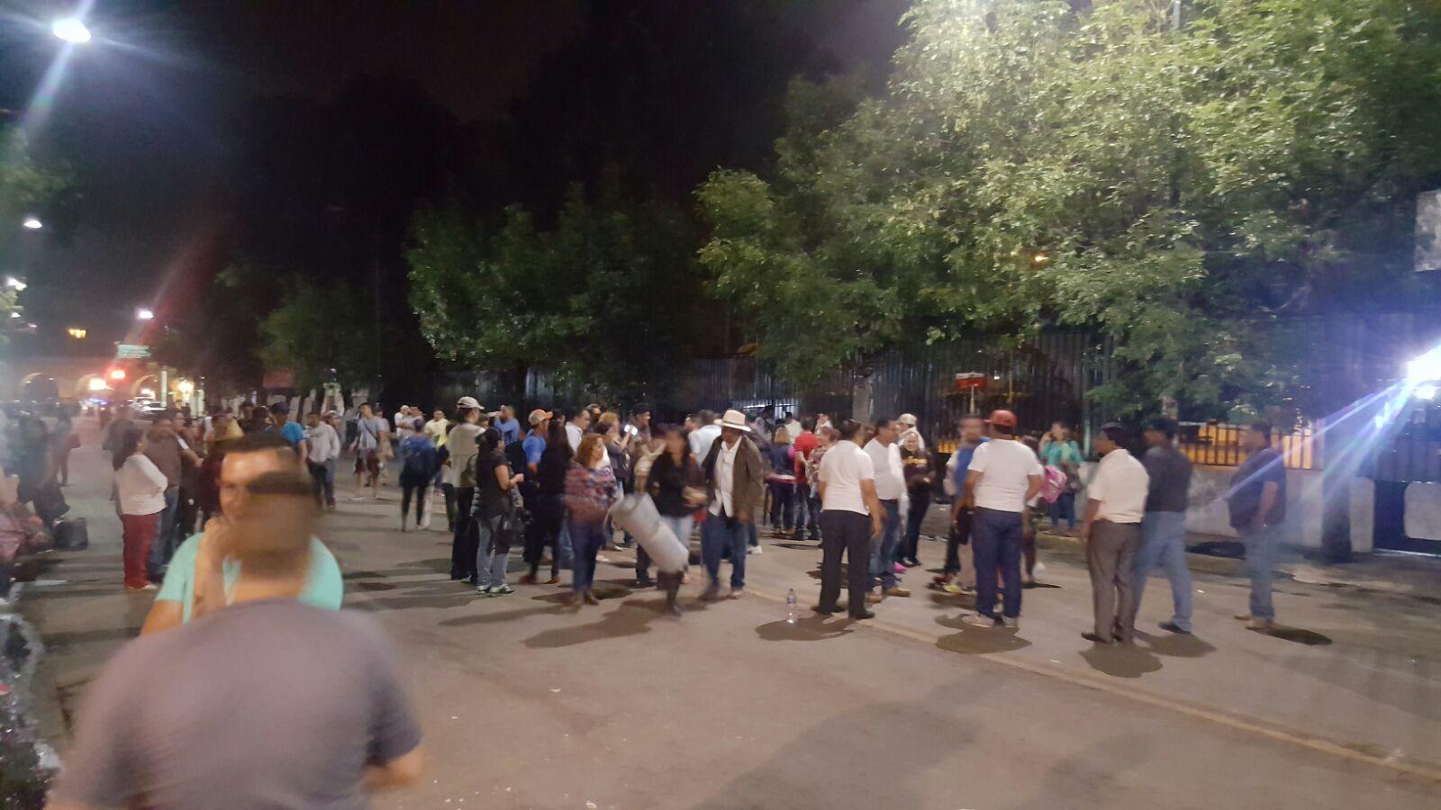 Retira CNTE plantón en Michoacán