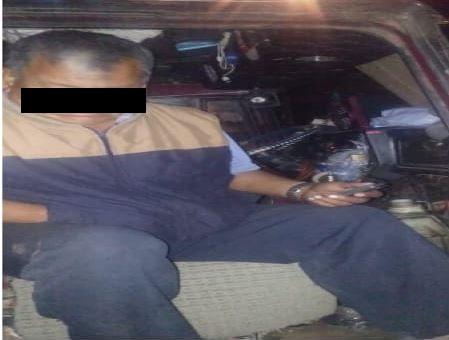 SSC detiene a hombre por venta ilegal de combustible en la vía pública