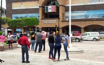 Sin daños en Chiapas por sismo