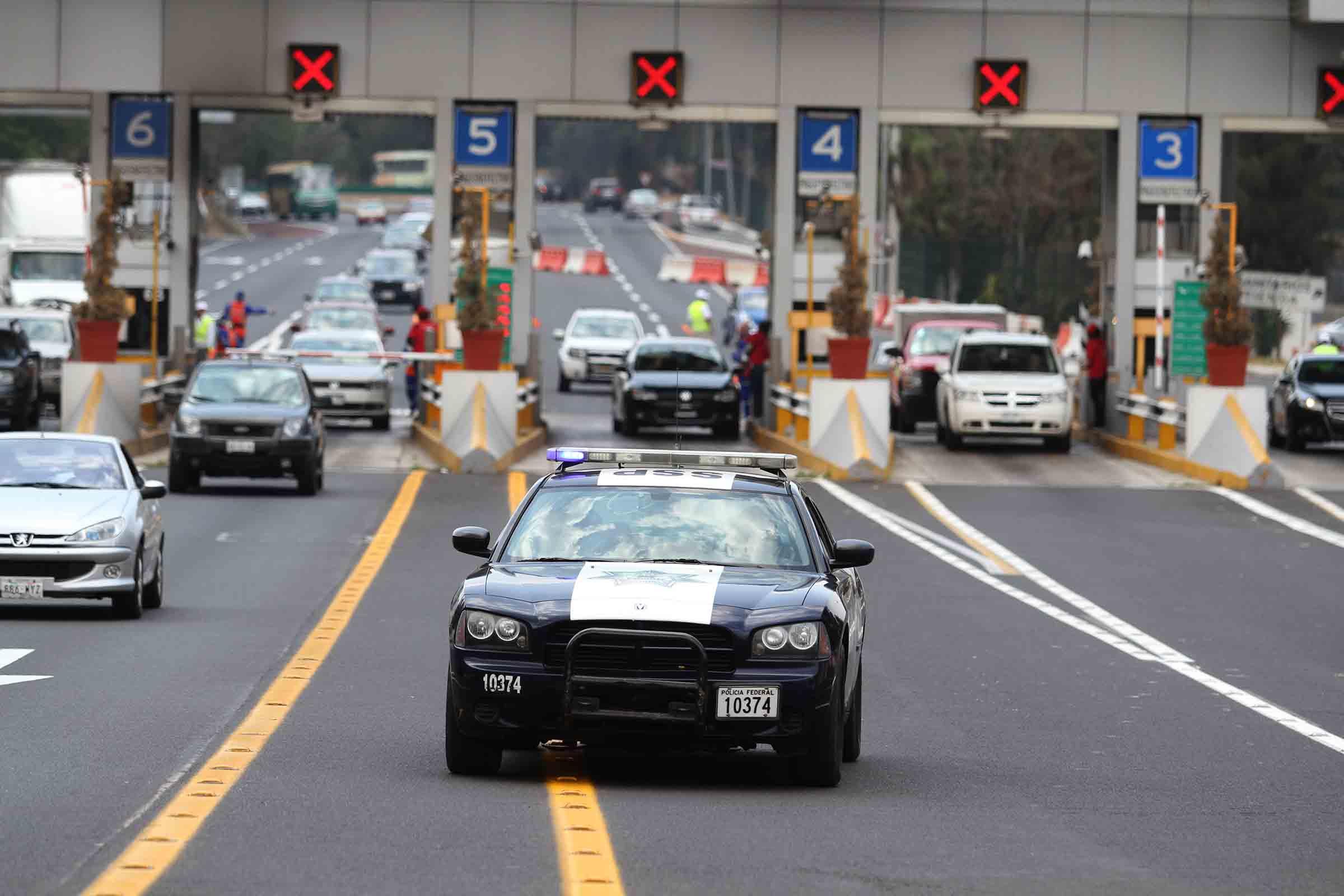 Alistan operativo federal para puente vacacional