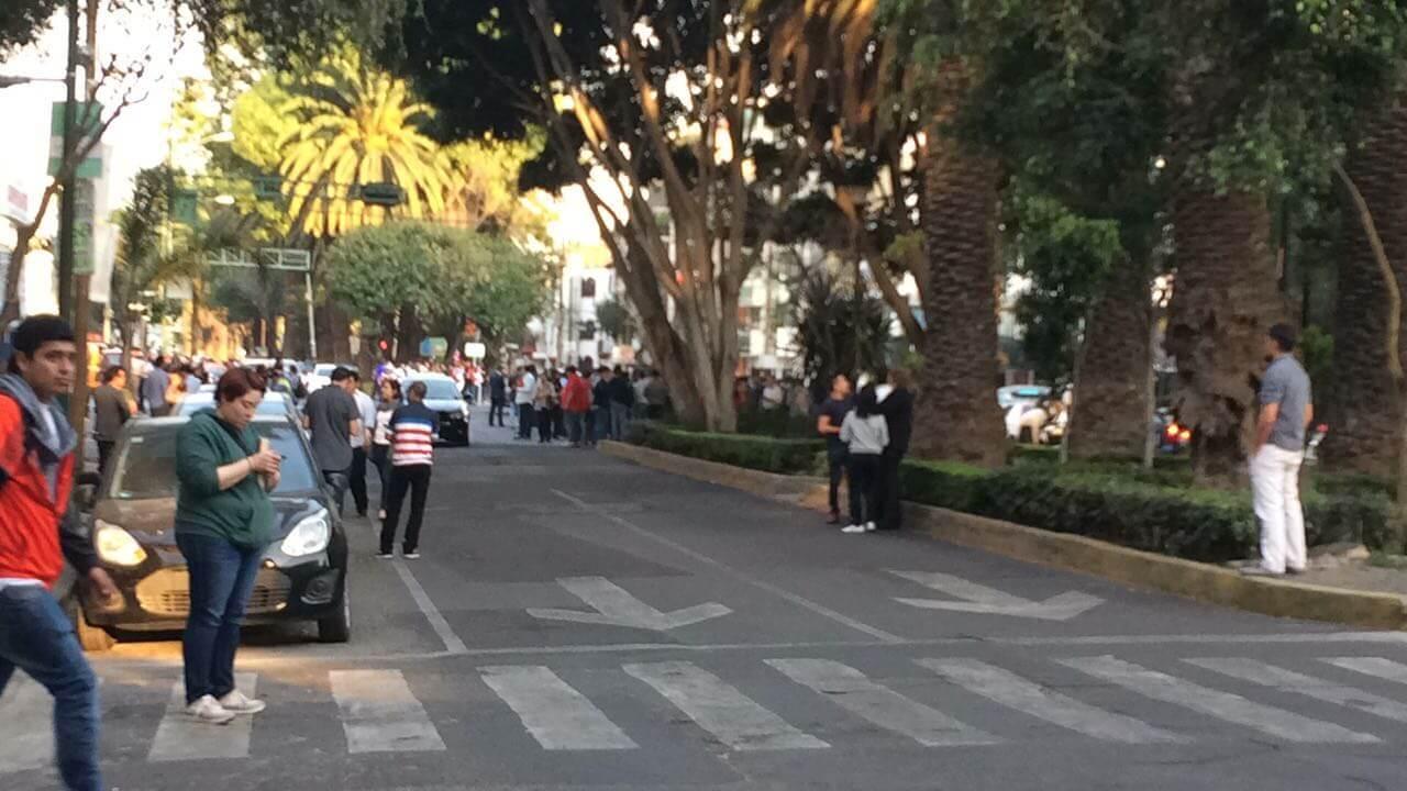 Saldo blanco en la Ciudad de México, luego del sismo de 6.5 grados con epicentro en Ciudad Hidalgo, Chiapas