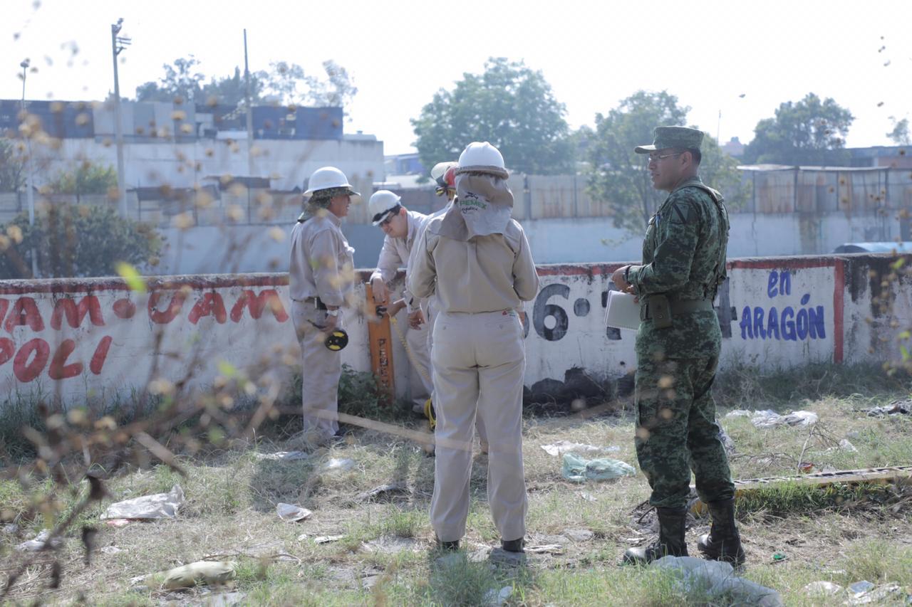 Cuatro detenidos por toma clandestina en concentración de comercio en la Colonia El Coyol