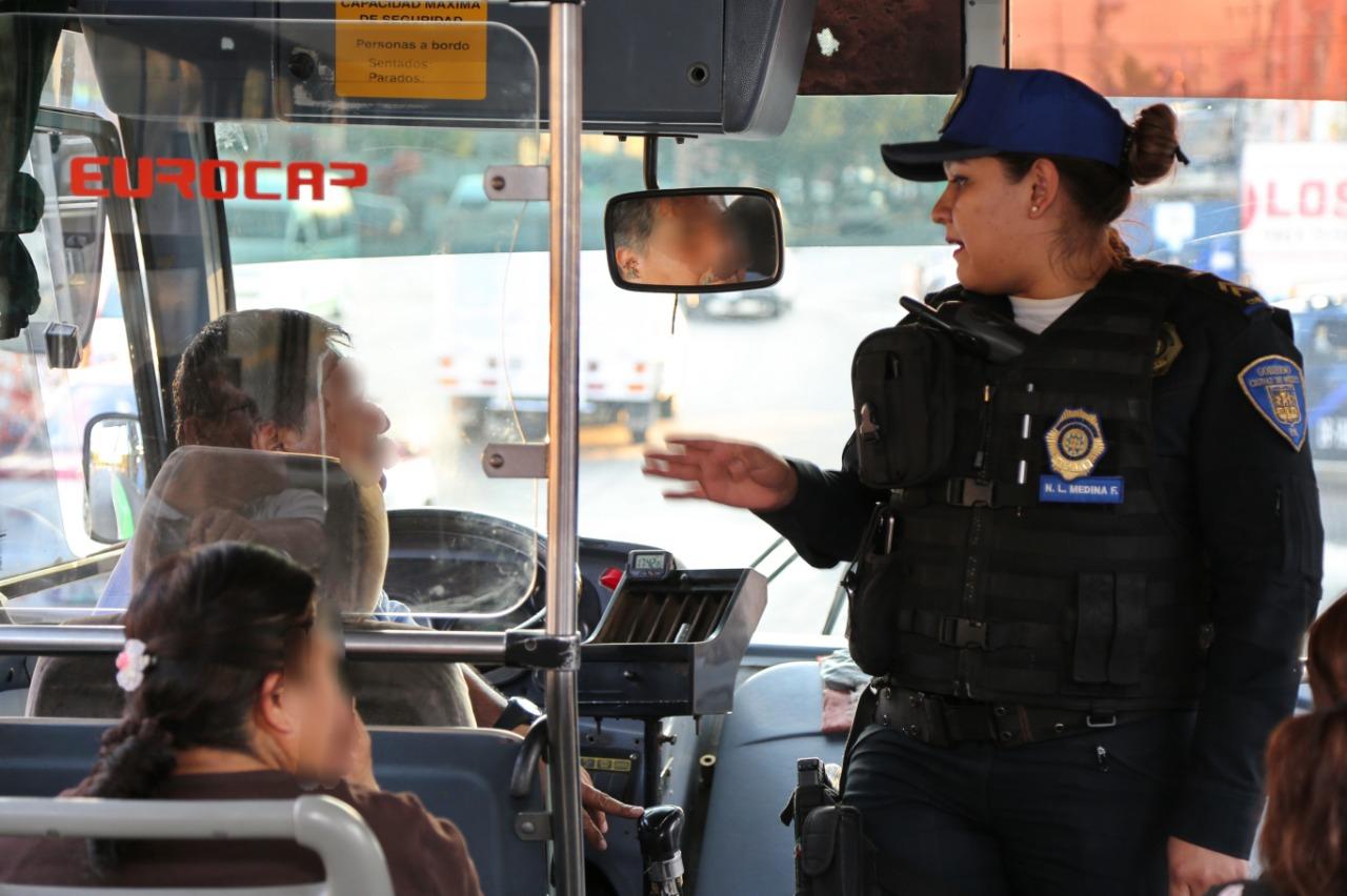 Presenta SSC Plan de Seguridad para el Transporte Público
