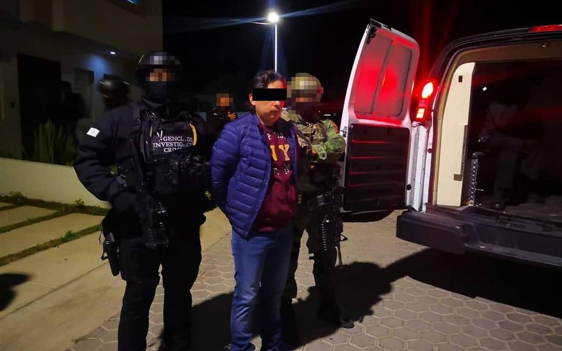FGR detiene a hombre con orden de extradición