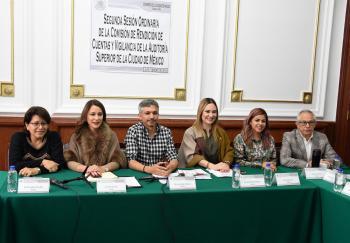 Congreso CDMX, atento a la rendición de cuentas de la Auditoria Superior de la capital