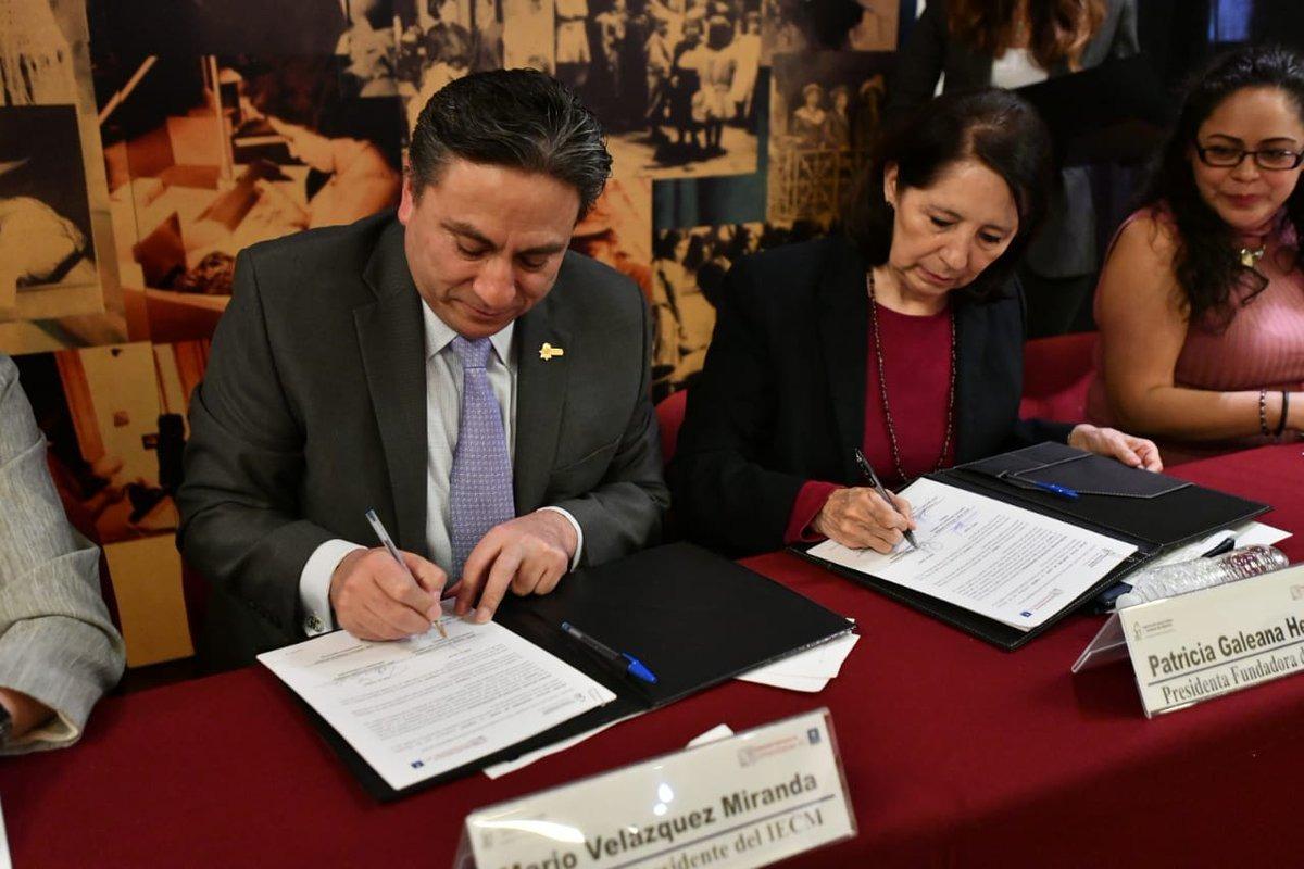Impulsarán IECM y FEMU igualdad sustantiva y políticas públicas en pro de las mujeres