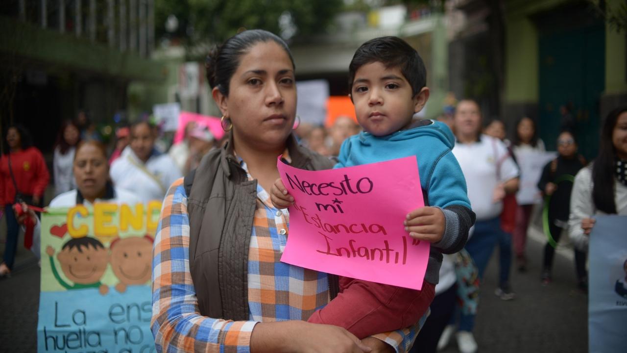 CNDH en contra de recortes a estancias infantiles