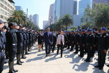Integra la SSC 3 mil 500 Policías más a la estrategia de cuadrantes