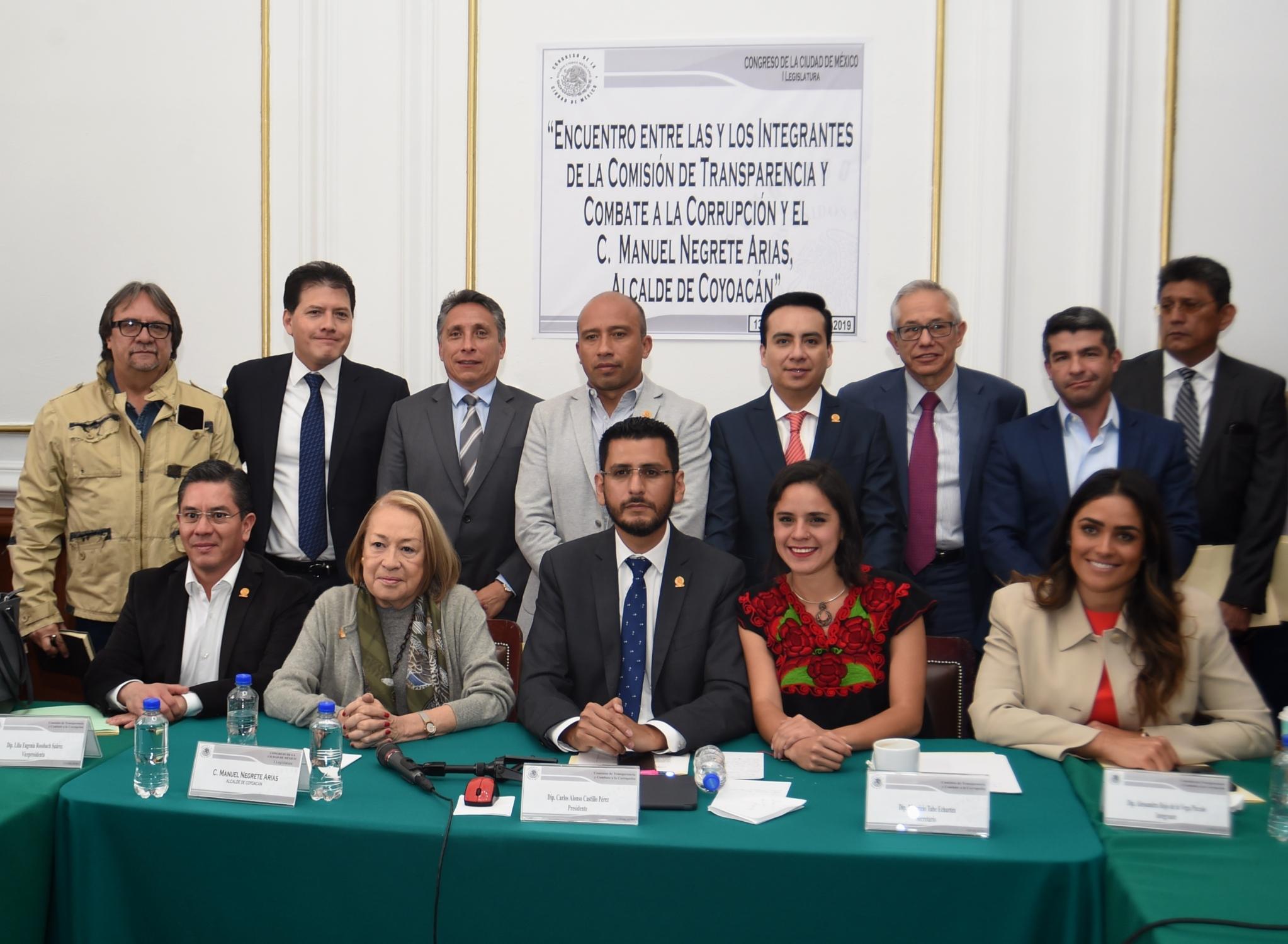El alcalde de Coyoacán acude al Congreso capitalino; le exigen aclarar los presuntos actos de corrupción